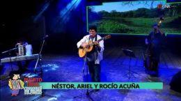 Nestor,Ariel y Rocio Acuña 11.01