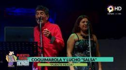 Coquimarola y Lucho Salsa 12.01