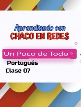 Clases de Portugués | 07